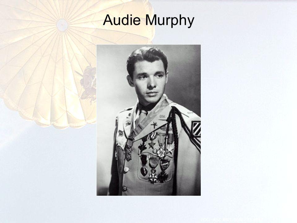 Audie Murphy 21 POC: ASC MRT, DSN 793-4847