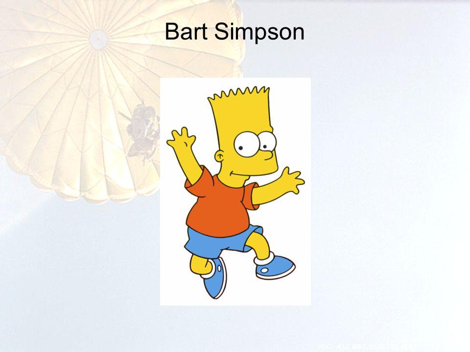 Bart Simpson 23 POC: ASC MRT, DSN 793-4847