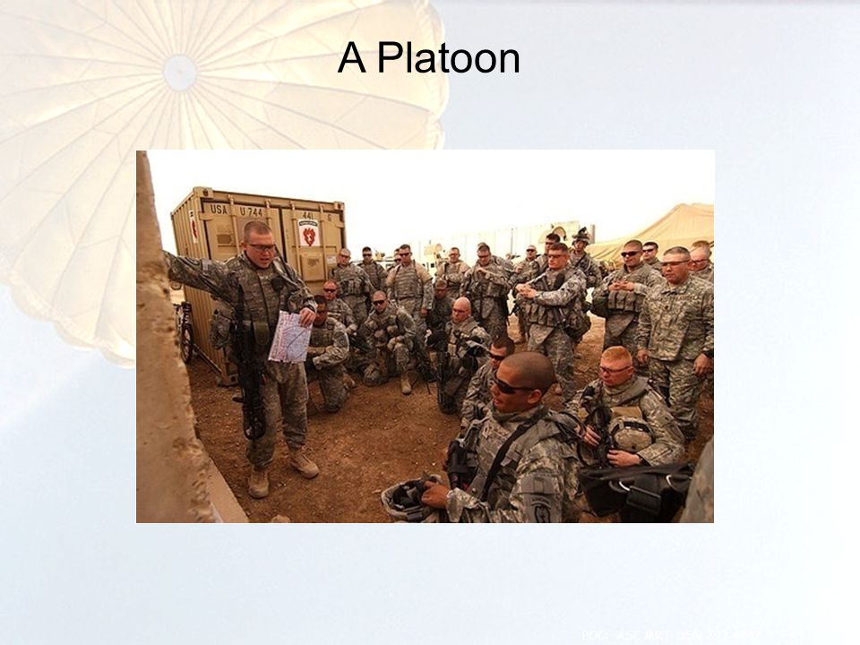 A Platoon 24 POC: ASC MRT, DSN 793-4847