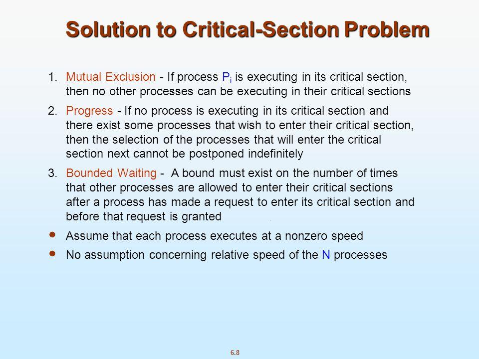 6.39 Synchronization Examples Solaris Windows XP Linux Pthreads