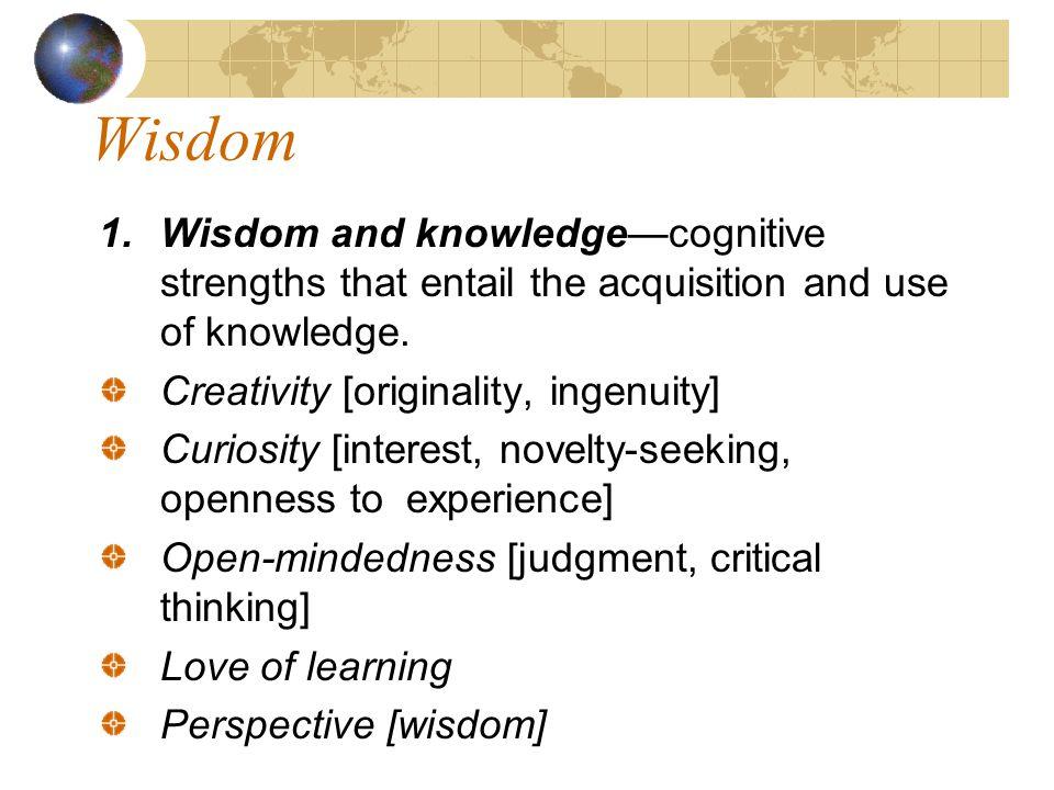 Wisdom 1.