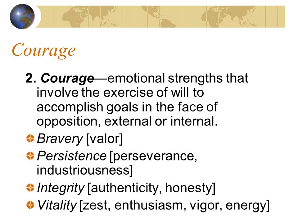Courage 2.