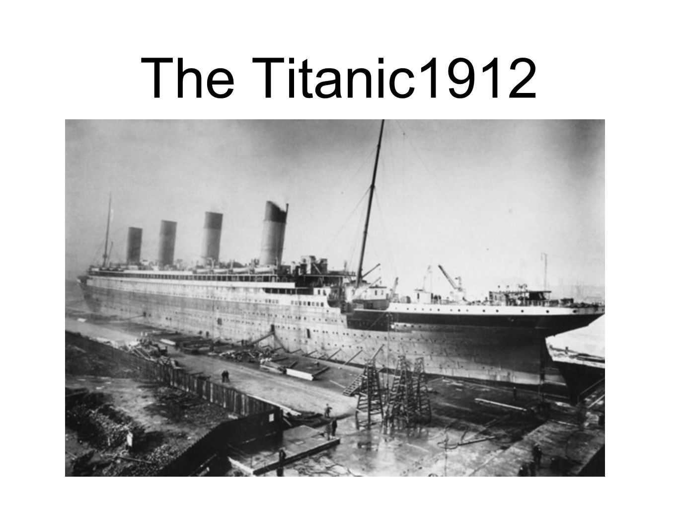 The Titanic1912
