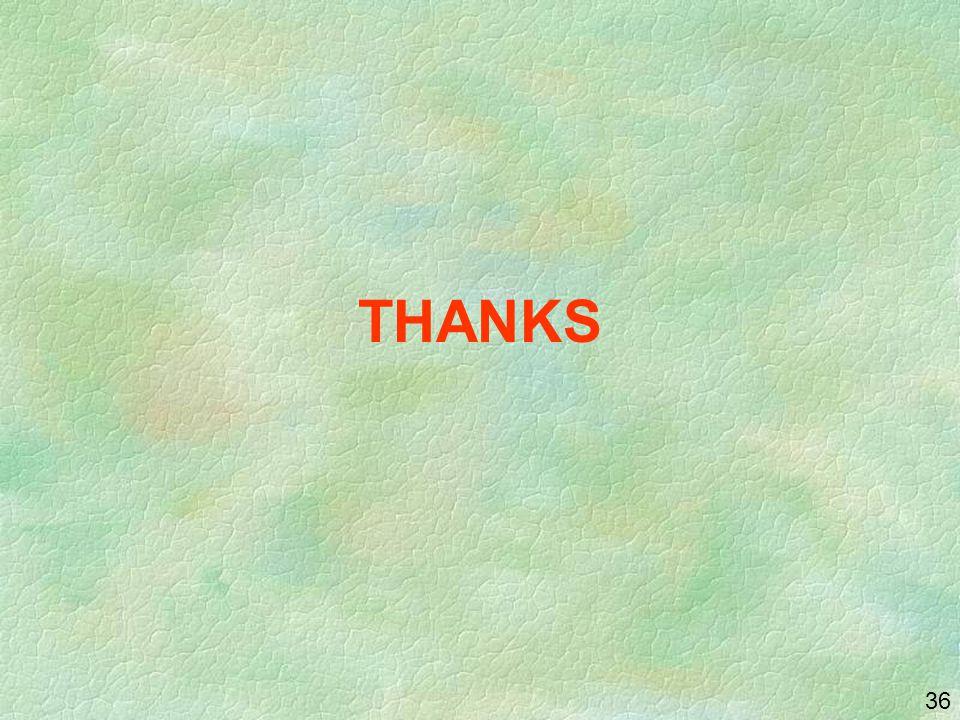 36 THANKS