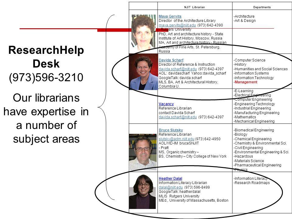 NJIT LibrarianDepartments Maya Gervits Director of the Architecture Library maya.gervits@njit.edu (973) 642-4390 maya.gervits@njit.edu - Rutgers Unive