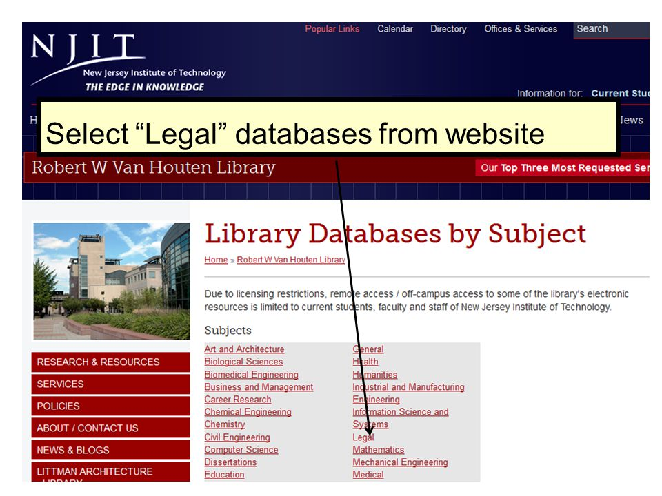Find a case when you know the citation or use advanced search Use the widget...