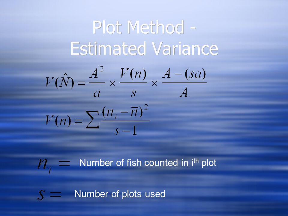 Schnabel Method - example p. 137 (2nd ed.) 95% C.I. = 1,602 - 2,049