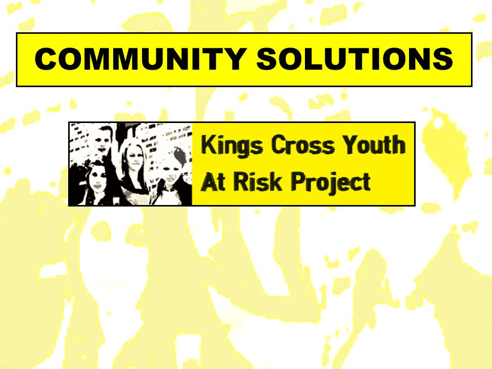 COMMUNITY SOLUTIONS