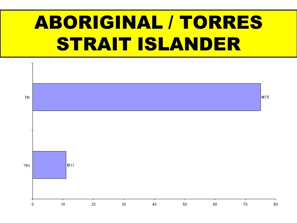 ABORIGINAL / TORRES STRAIT ISLANDER