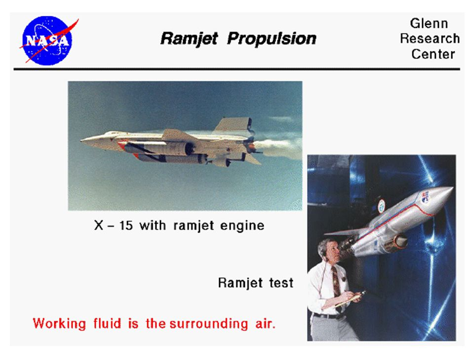 RAMJET POWERED MISSILES Boeing/MARC CIM-10A BOMARC A Surface-to-Air Missile Aerojet General LR59-AG-13 liquid rocket; Two Marquardt RJ43-MA-3 ramjets