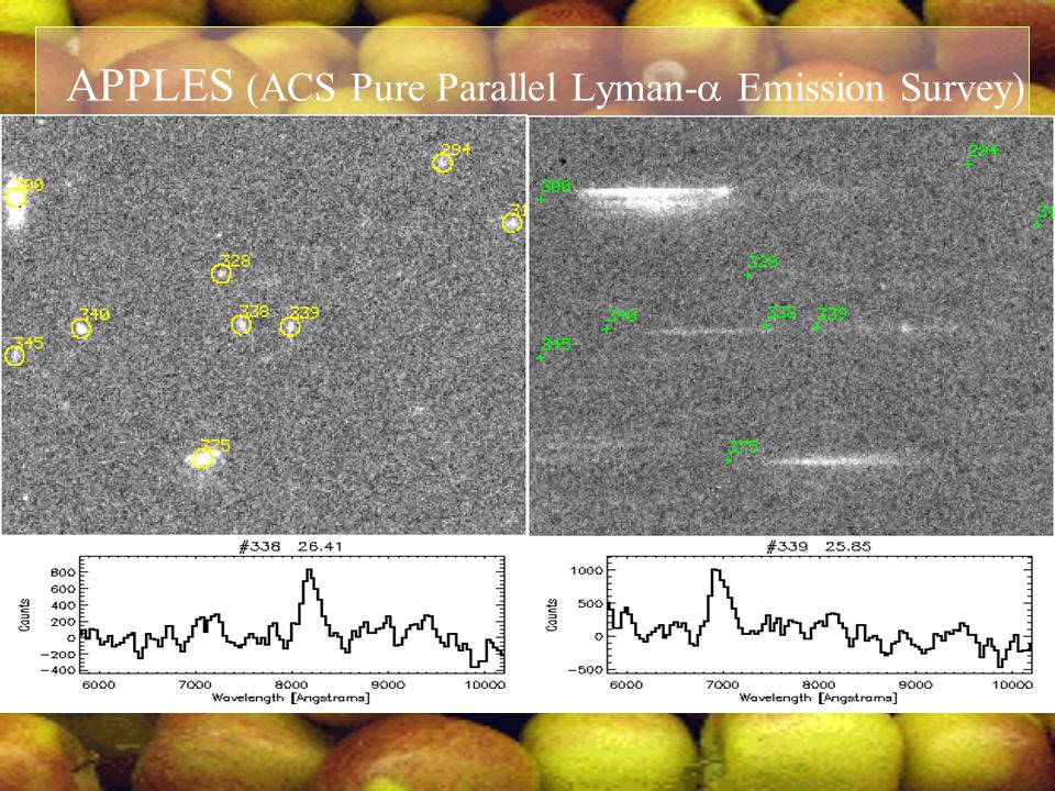 APPLES (ACS Pure Parallel Lyman-  Emission Survey)