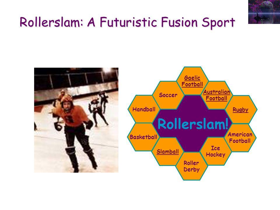 Rollerslam: A Futuristic Fusion Sport Rollerslam.