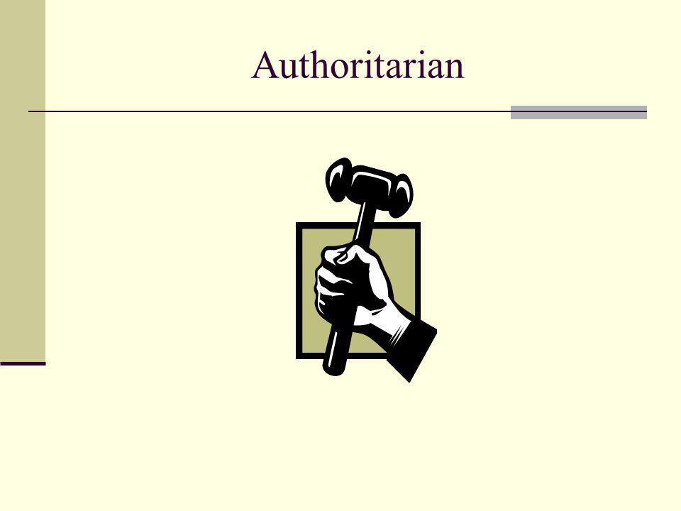 Authoritarian