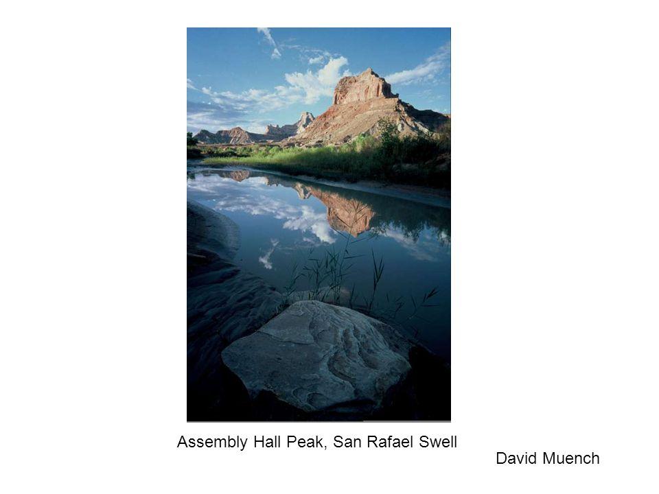 Assembly Hall Peak, San Rafael Swell David Muench