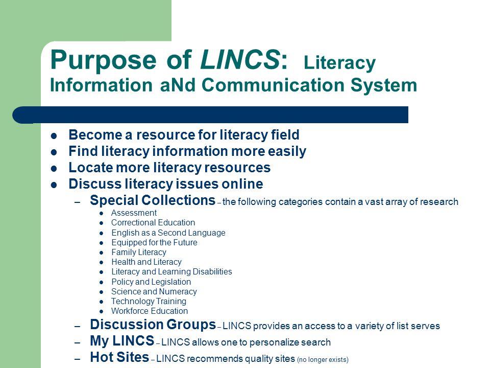 Brief History of NIFL In 1992 the Literacy Act created NIFL, www.nifl.gov.