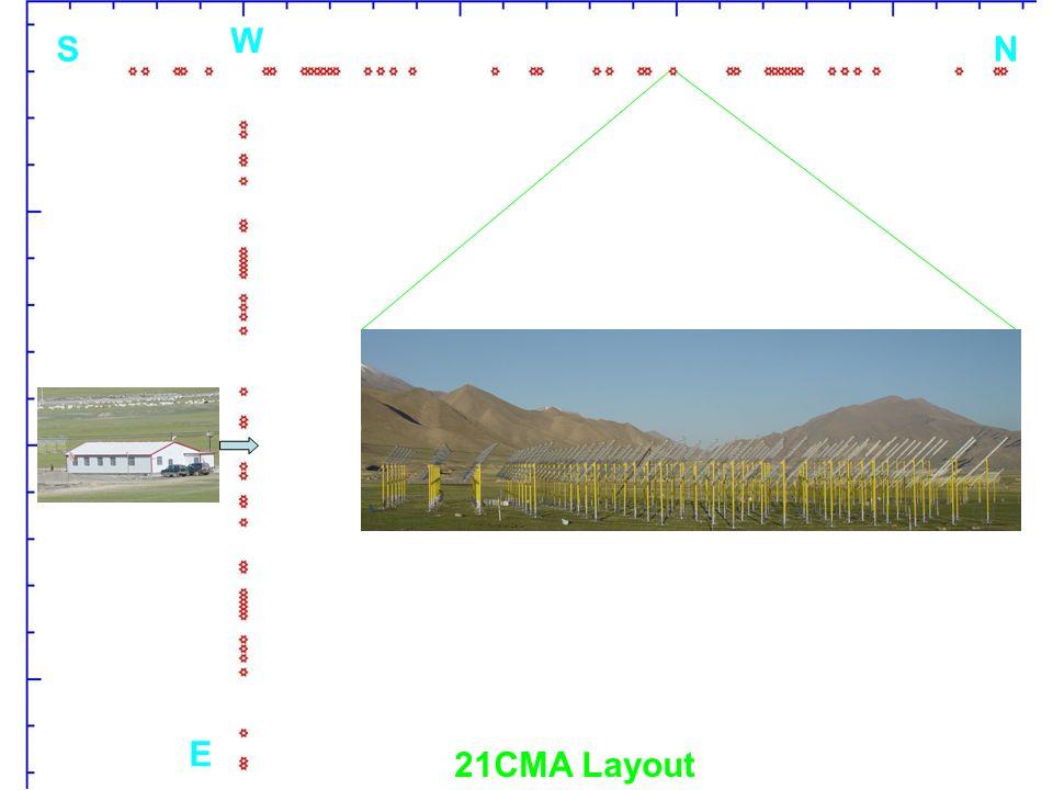 E W SN 21CMA Layout