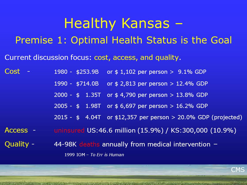 Healthy Kansans 2010 United Methodist Health Fund Ministry 6 th Annual Healthy Congregations Retreat Healthy Kansas – Children in Schools Coordinated School Health Initiative Infrastructure – >52 Districts, 224 Schools, 80,000 students –Voluntary Body Mass Index (BMI) Testing –Child Health Advisory Committee –School Nutrition and Physical Activity Committees