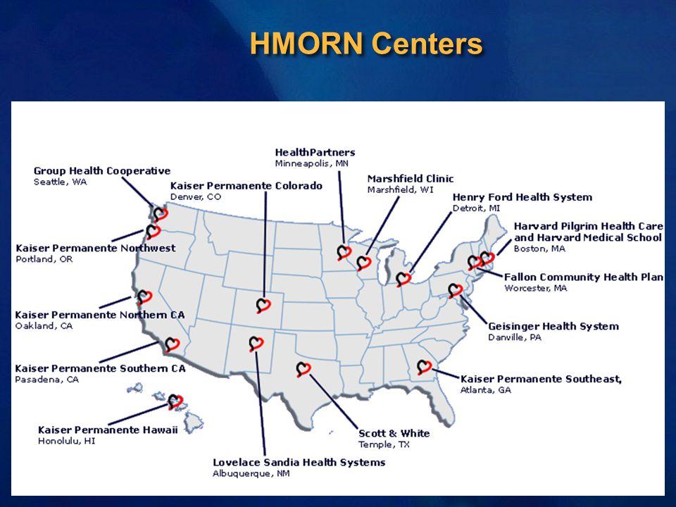 HMORN Centers