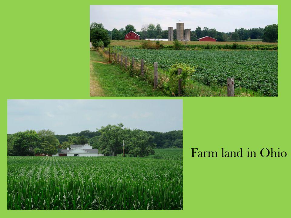Farm land in Ohio
