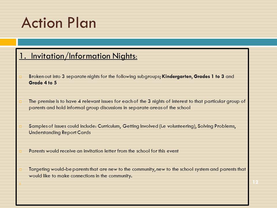 Action Plan 12 1.