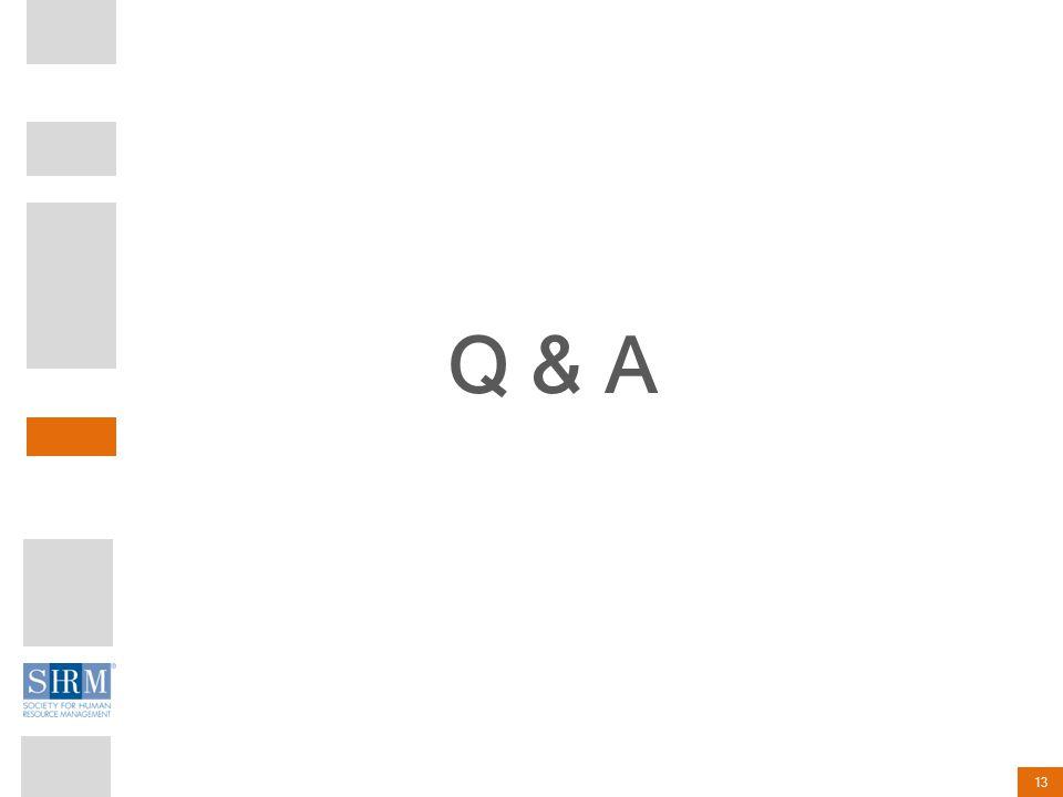 13 Q & A