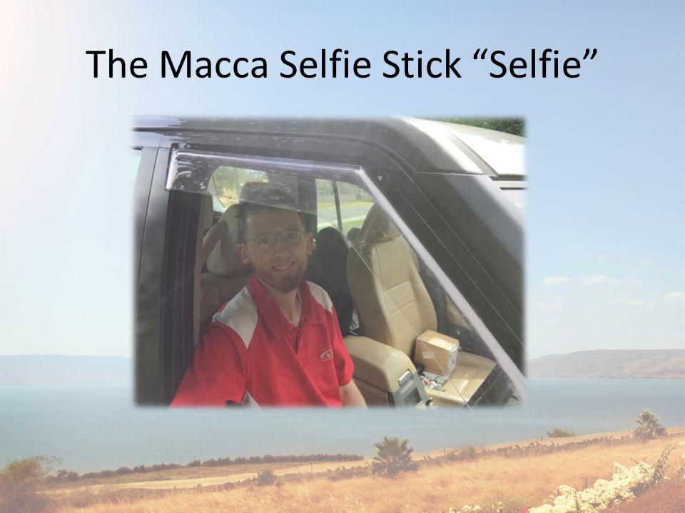 The Macca Selfie Stick Selfie