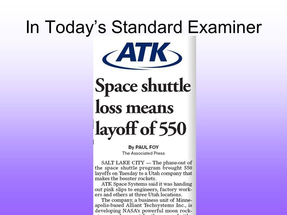 In Today's Standard Examiner
