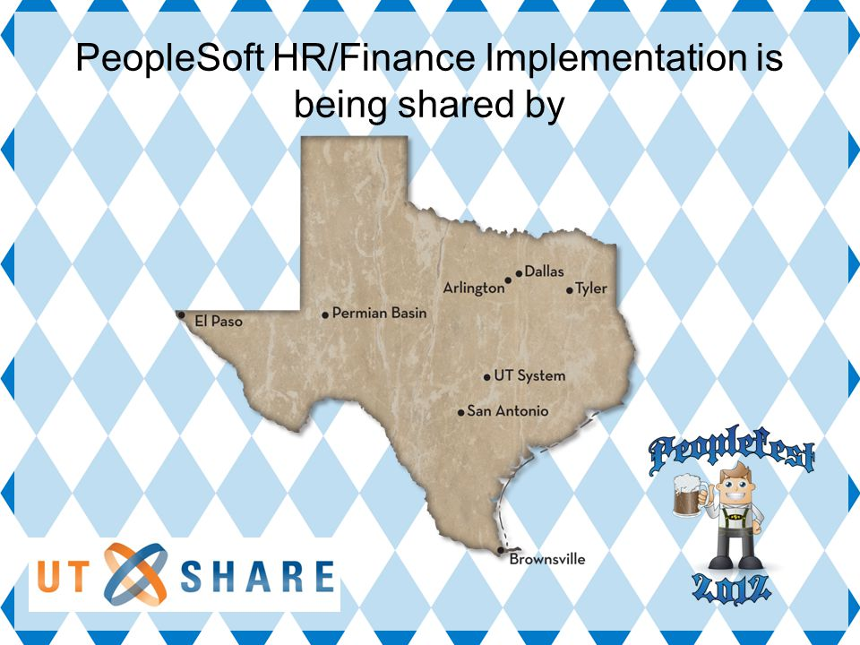 PeopleSoft HR/Finance Implementation is being shared by