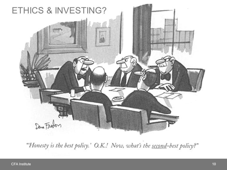 10 ETHICS & INVESTING
