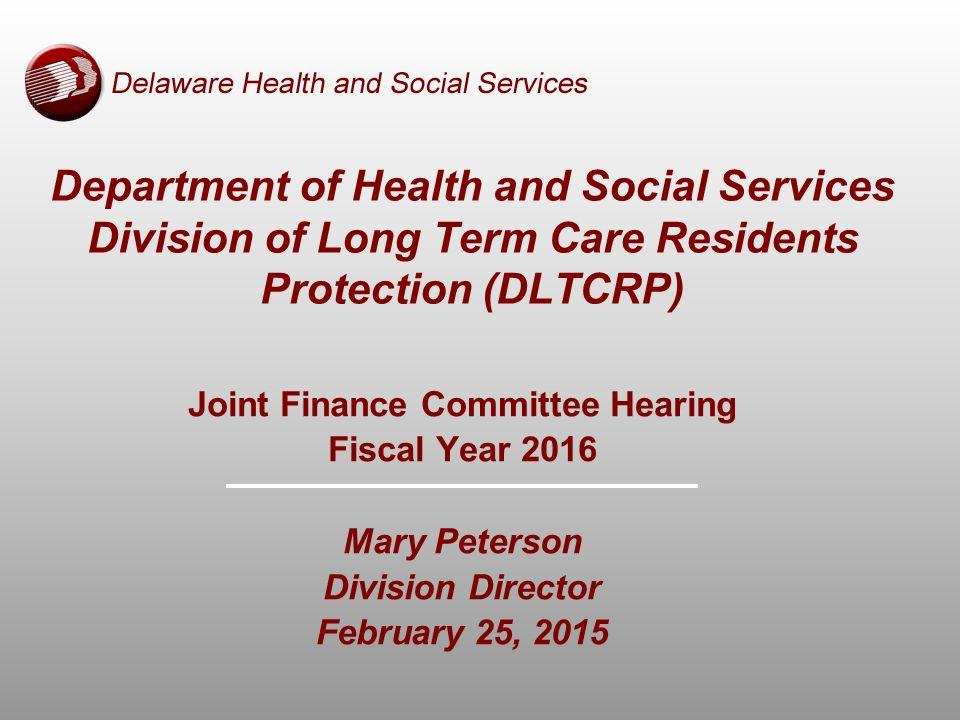 Delaware Health and Social Services Certified Nurse Aides 10,300 Active Nurse Aide Training Programs 32