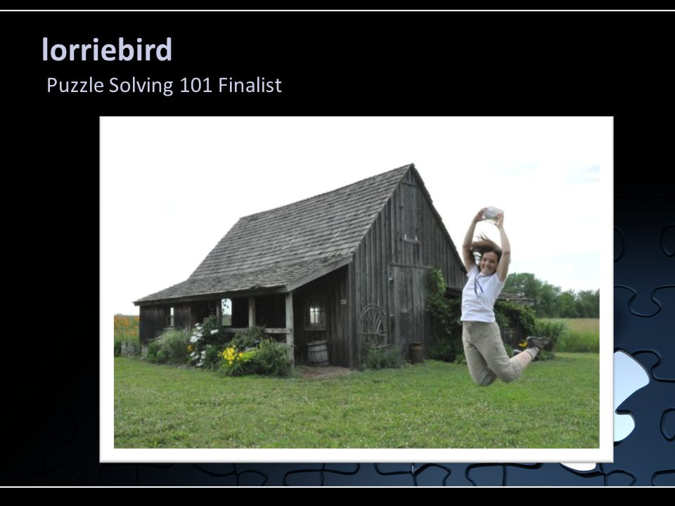 lorriebird Puzzle Solving 101 Finalist