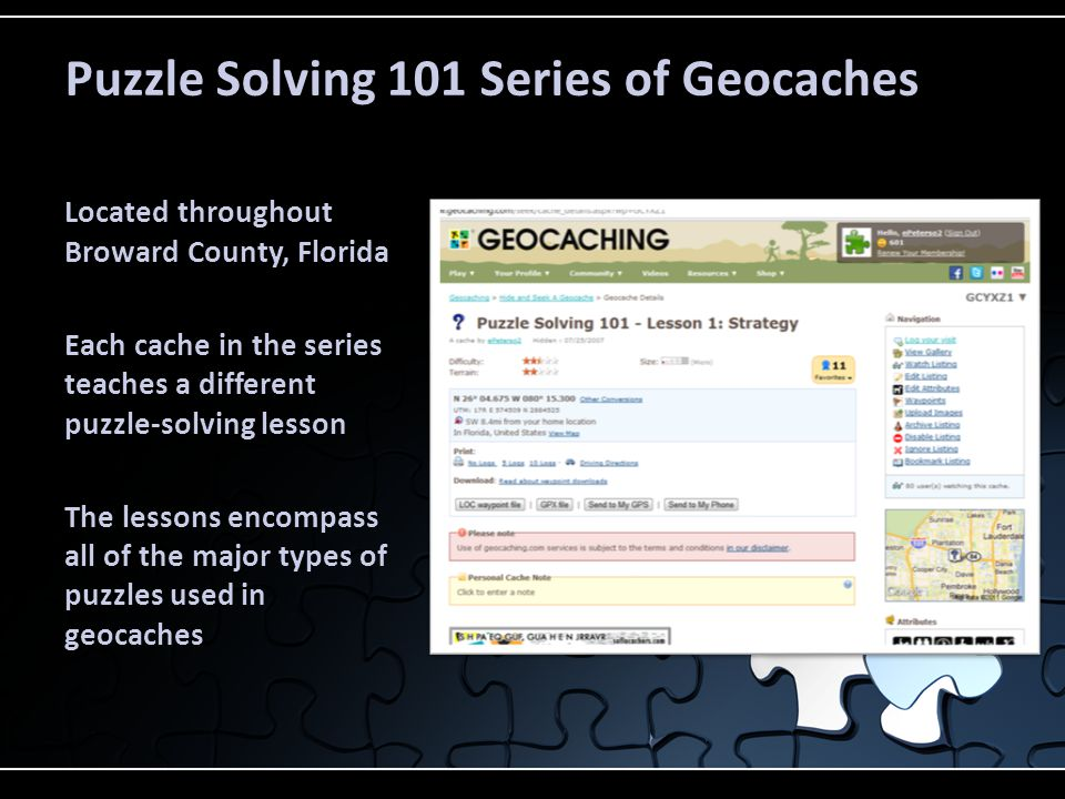 Puzzle-Solving Topics 1.Strategy 2. Tactics 3. Trivia Challenges 4.