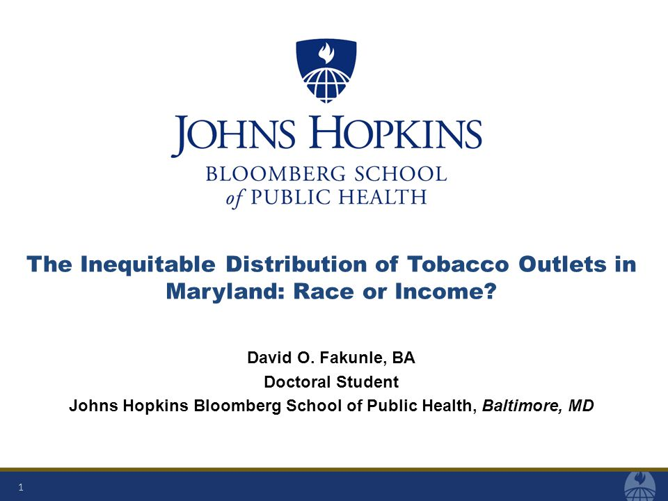 What is Tobacco Outlet Density.