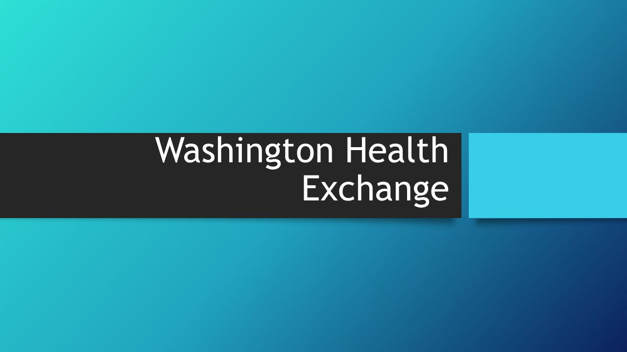 Washington Health Exchange