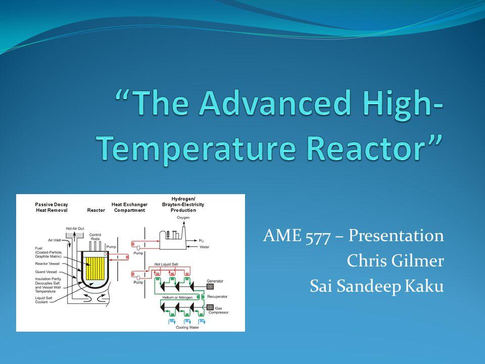 AME 577 – Presentation Chris Gilmer Sai Sandeep Kaku