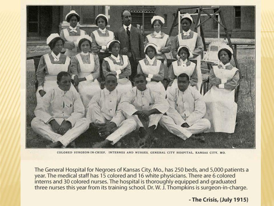  General Surgery  Howard University Medical School 1905  1 st Black Superintendent of General Hospital No.