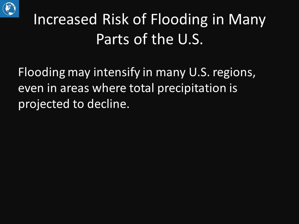 Increased Risk of Flooding in Many Parts of the U.S.