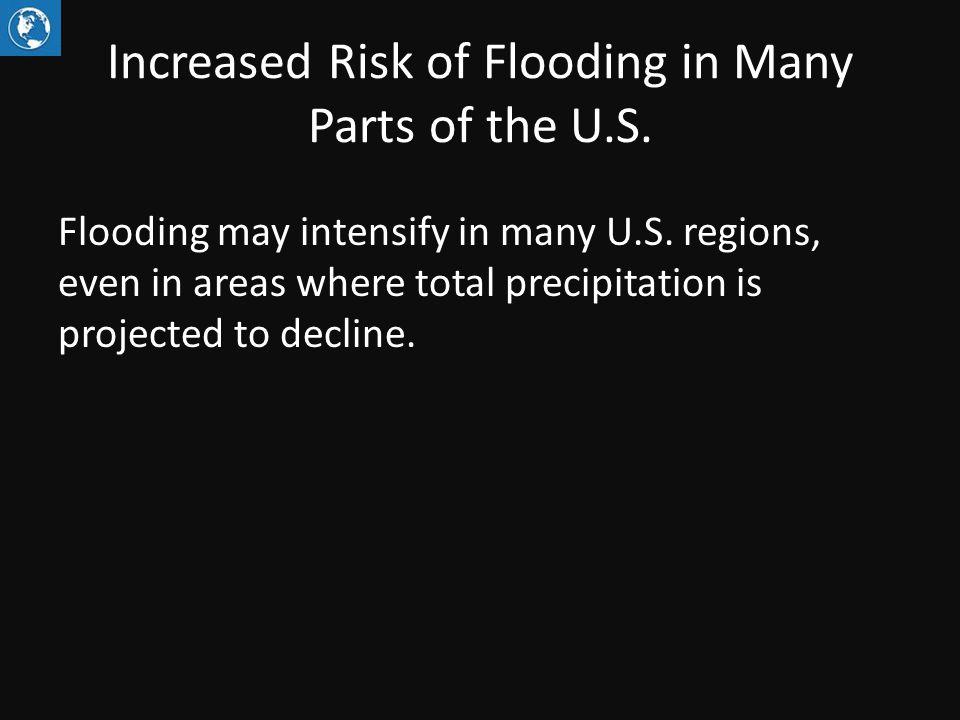 Trends in Flood Magnitude Figure source: Peterson et al. 2013