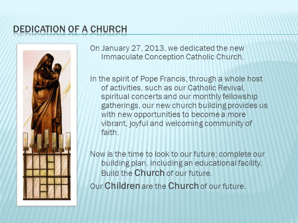 BCOTF Building Church of the Future Facilities & Property Task Force Capital Campaign Phase II