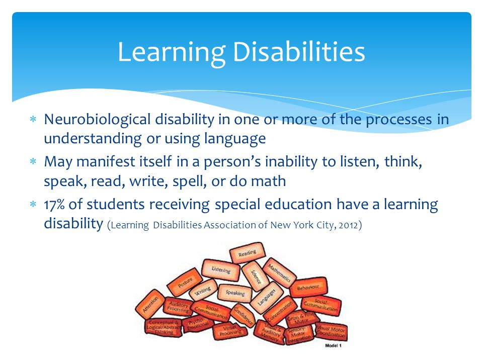 Students and teachers should work together to find ways to sort different information, use humor or exaggeration in learning, use visual aids, explore all the senses, and make learning fun (Hoover 2009)  Accommodations may include differentiated presentation of lessons or materials, different response mechanisms, or time modifications (NCLD 2006) Previous LD Interventions