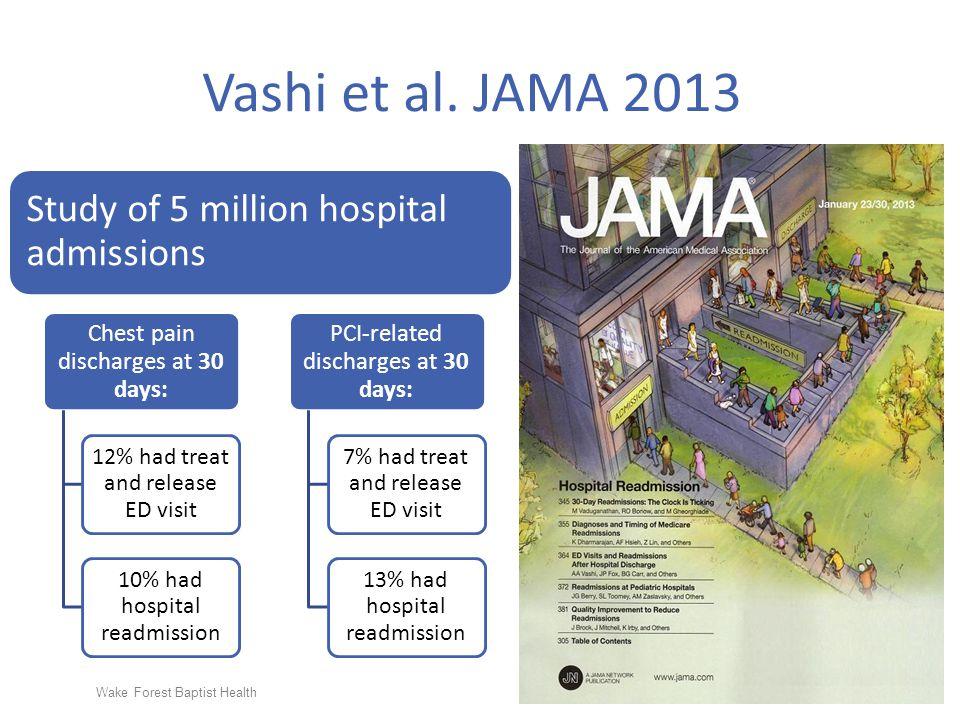 Wake Forest Baptist Health Vashi et al. JAMA 2013