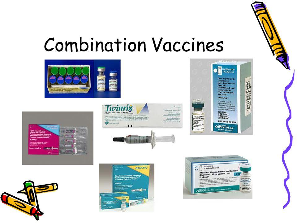 Combination Vaccines
