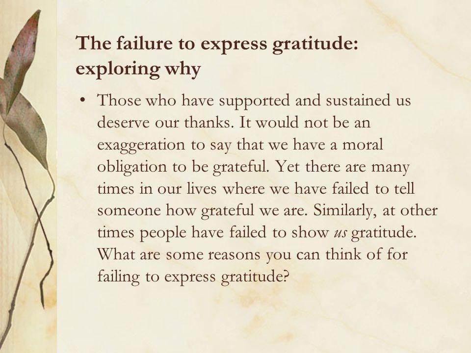 10. Thinking Outside the Box 1.Gratitude to those who harm you 2.Gratitude to those whom you help
