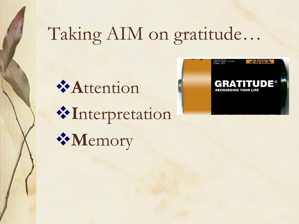 Gratitude to Institutions?