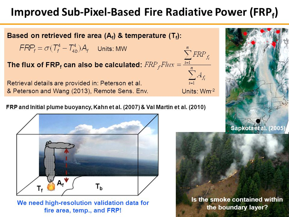 TfTf TbTb AfAf FRP and Initial plume buoyancy, Kahn et al.