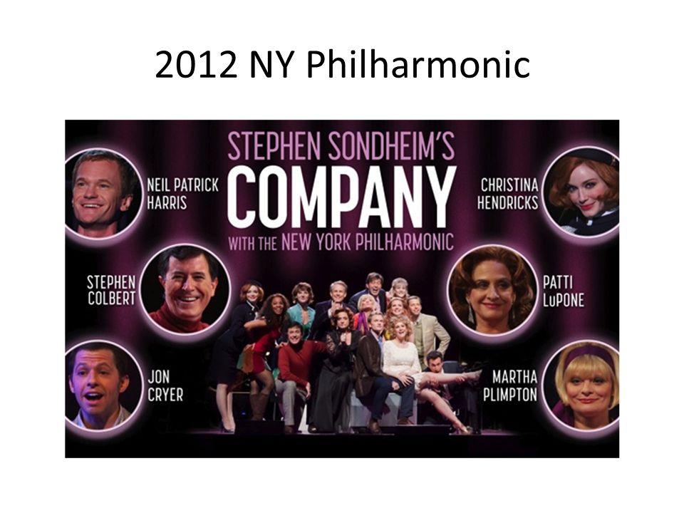 2012 NY Philharmonic
