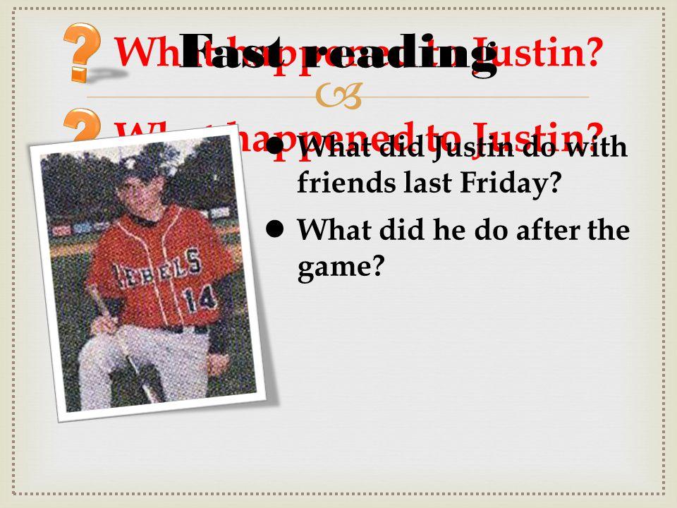  What happened to Justin? ? Strange lights UFO Alien visits Fast reading