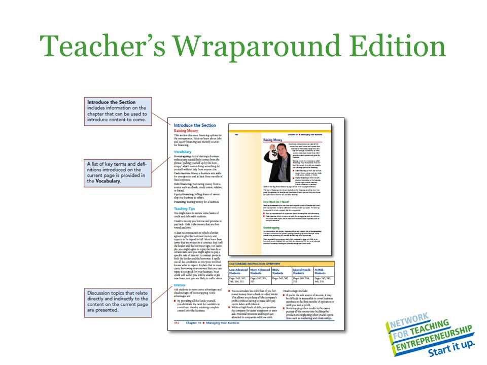 Teacher's Wraparound Edition