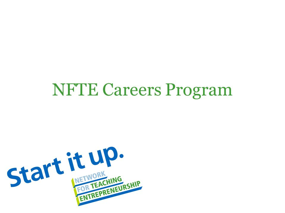NFTE Careers Program