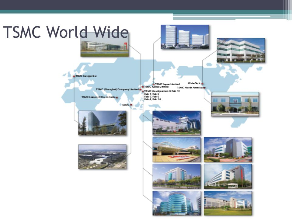 Company Overview Establishment Worlds LARGEST semiconductor foundry ▫Semiconductor.